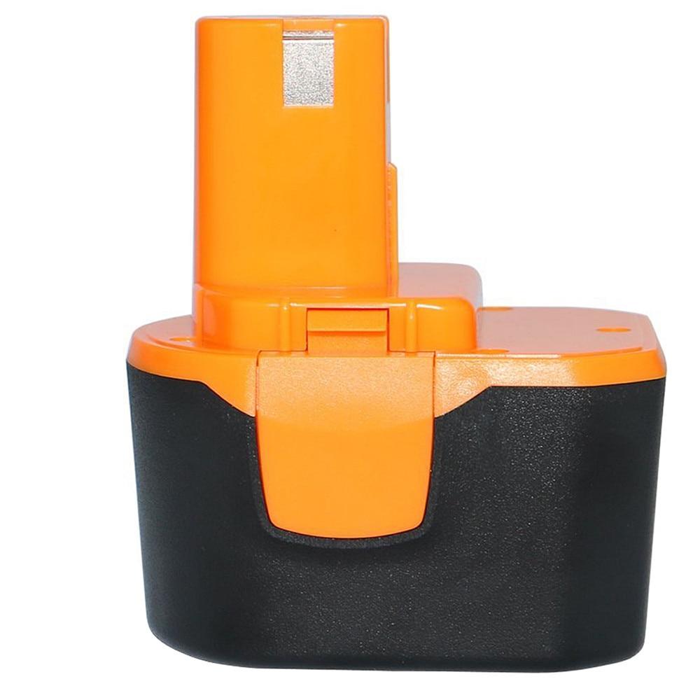 12V 3.0AH 2000mAh Ni-MH Battery For Ryobi B-1230H, B-1222H, B-1220F2, B-1203F2, 1400652, 1400652B, 1400670 Cordless T0.25