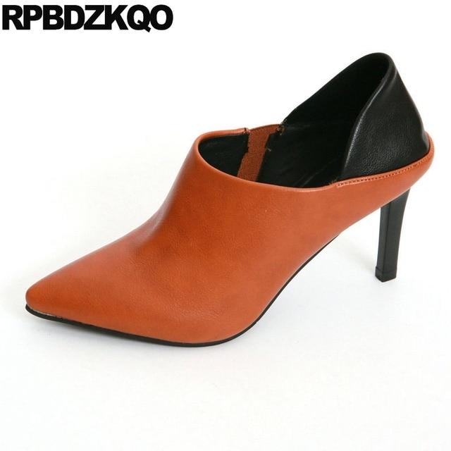 Chaussures automne à bout pointu femme m5o6e4
