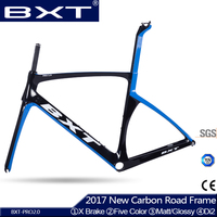 2017 BXT NEW T800 Full Carbon Road Frame Bike Racing Bicycle Frameset Four Size XS L