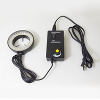 Blue Light 60 Led Lamps Ring Lamp Used On Stereo Biological Zoom Stereo Microscope Parts With
