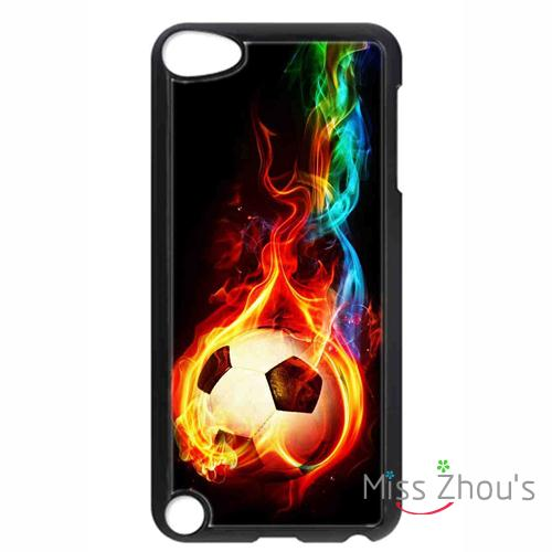 For iphone 4/4s 5/5s 5c SE 6/6s 7 plus ipod touch 4/5/6 back skins mobile cellphone cases cover Soccer Ball , Football