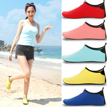 Adults Children Swimming Shoes Water Sport Diving Sock Quick Dry Beach Barefoot Acqua Snorkeling Anti Slip Rubber Sole