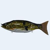 Fishing Artificial Baits 4 Segment Vivid Performance Swimbait Crankbait Slow Sink Hard Bait Fishing Tackle