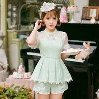 Princess Sweet Lolita Shorts Candy Rain Summer Sweet Japanese Style Celebrities Got Up Figure Leisure Student