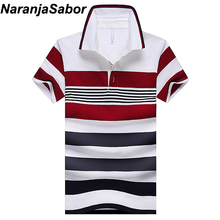 NaranjaSabor 2018 Summer Men s Polo Shirt Casual font b Slim b font Mens Short Sleeve