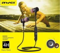 Awei A920BL Earphone Sport Bluetooth 4 0 Connection With Voice Noise Reduction Free Shipping