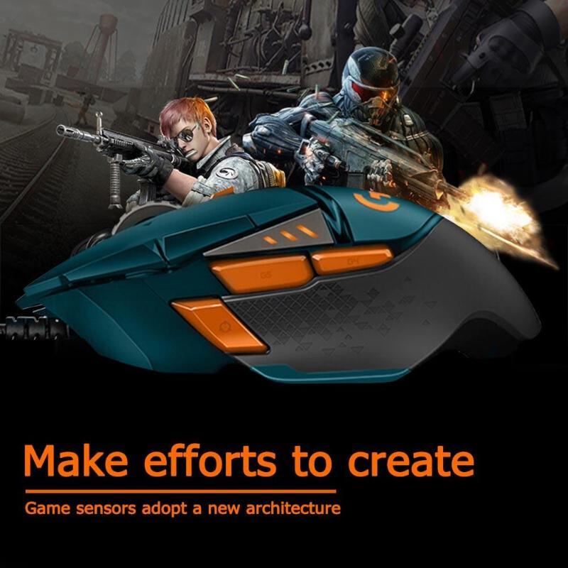 Logitech G502 Hero программируемая игровая мышь RGM 16000 dpi USB Проводная мышь для геймеров League of Legends (LOL) Limited Editio - 2