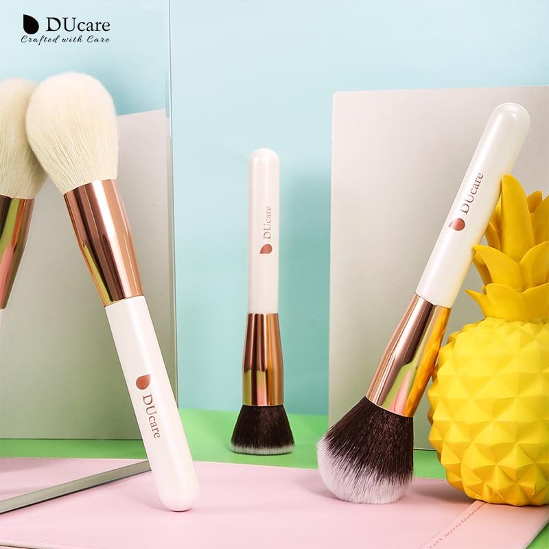 DUcare brushes Pearl White 15PCS Makeup brushes set