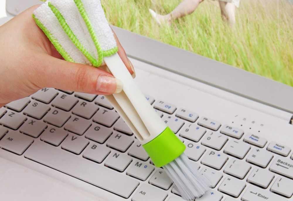 رائجة البيع لوحة المفاتيح مجمع الغبار ميكروفايبر pp النايلون الكمبيوتر أدوات نظيفة ستائر النوافذ مكنسة كهربائية لحساب 0.816