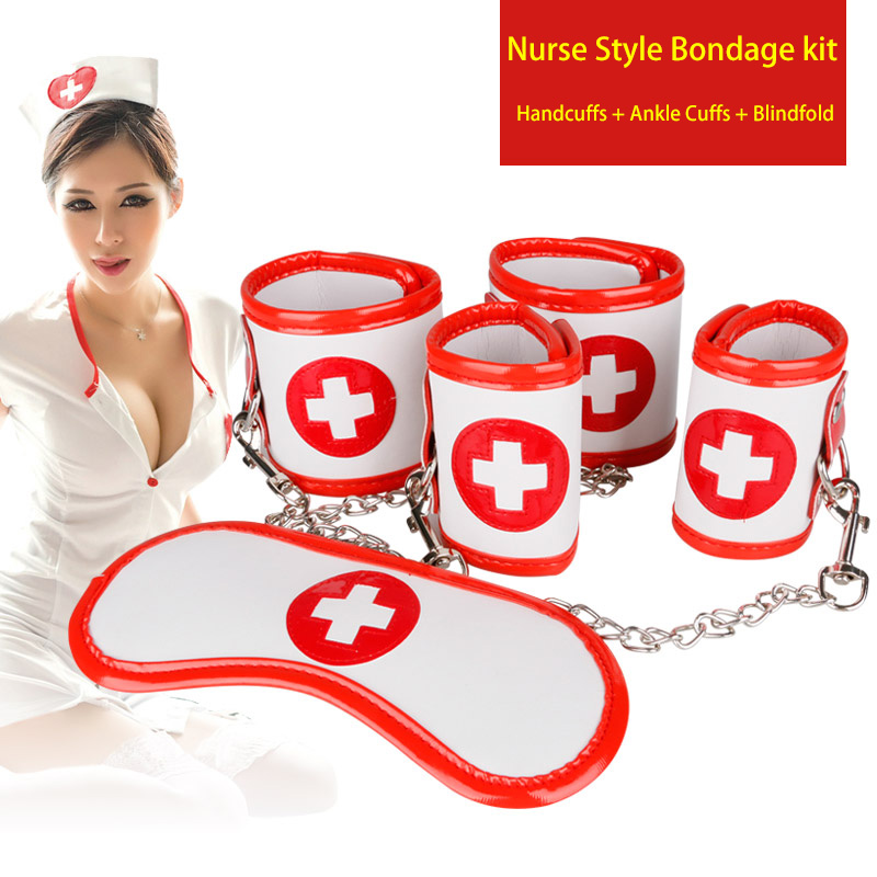 Bondage restraints nurses