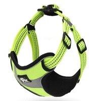 Dog Harness Vest Adjustable Pet Soft Adventure Reflective Nylon Harness Outdoor Training Walking For Small Medium