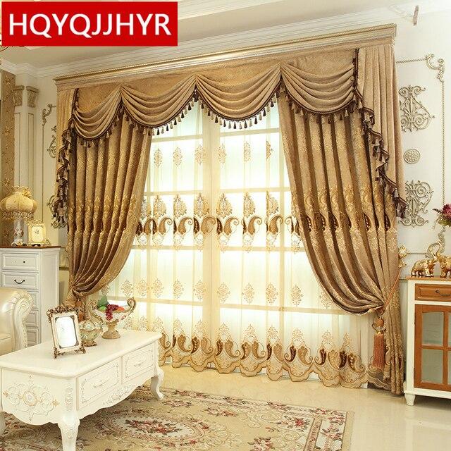 Comprar europea de lujo de encargo del - Estor con cortina ...