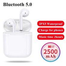 F10 TWS IFANS Chamadas mãos Fones de Ouvido Bluetooth 5.0 Fones de Ouvido Binaural Ar IPX5 Vagens Fones de Ouvido Sem Fio Fones De Ouvido para iphone xiaomi