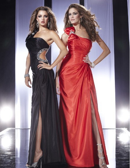 free shipping 2018 new style vestido de festa sexy formal crystal beaded red long elegant party prom gown   bridesmaid     dresses