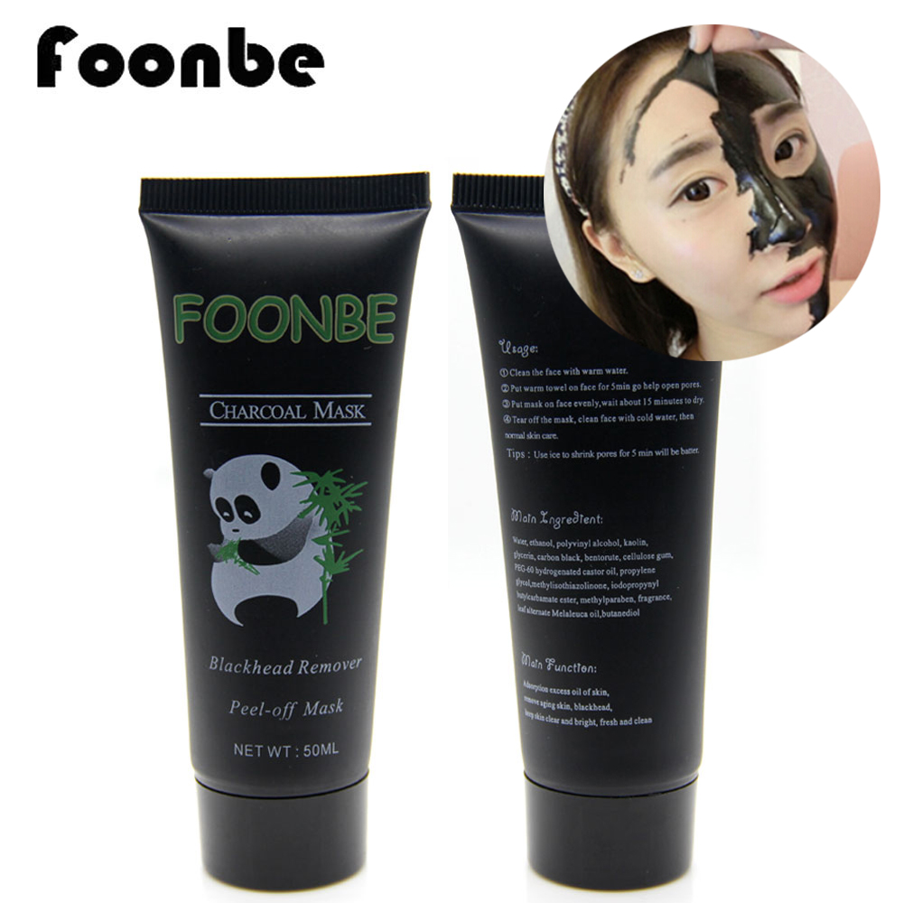 Foonbe face care black peeling peel off mask face nose - Masque peel off maison ...