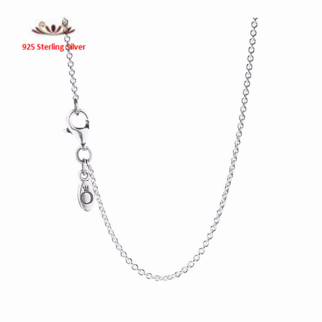 2015 Autumn new 925 Sterling Silver long Necklace mosaic Cubic Zircon Leaves Pendants Fashion charm for women Jewelry  HNP010