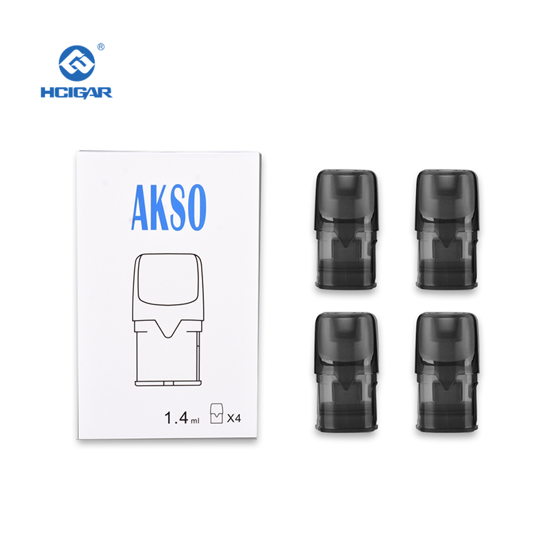 4 Pieces Pods For HCIGAR Akso OS Kit Empty Pod System