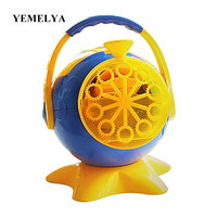 Electronic automatic bubble machine Automatic Big Soap Machine Bubbles Maker Toy,Bubble Gun Blower Toy for Gift Toy
