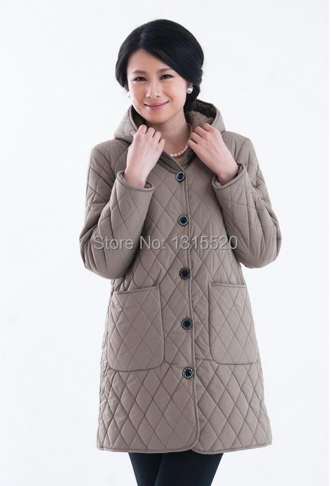 Coats Jackets padded new autumn and winter women 39 s fashion Slim casual cotton coat collar 91687F in Parkas from Women 39 s Clothing