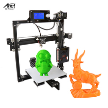 Anet A2 3d-printer diy Large Printing Size 220*220*220mm Precision DIY 3D Print with Filament & Card &Video Free