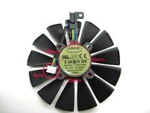 Freies Verschiffen T129215SM 12 V 0.25AMP 95mm VGA Fan Für ASUS STRIX RX470 RX570 RX580 4G Gaming 4PIN 13 klingen Lüfter