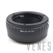 Venes MD NEX, adattatori per Obiettivi Fotografici Vestito Per Minolta MD Lens per Vestito per Sony NEX e Mount Fotocamera A6500 A6300 A5100 A6000 A5000 A3000 a7