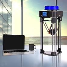 Маг mini3d принтер delta Полностью Собранный impresspra 3d CR-рамка kossel с только экструдер Titan возобновить Мощность от печати