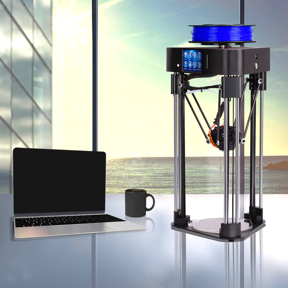 BIQU Magician mini3d printer delta Fully Assembled impresspra 3d CR-Frame kossel with Titan Extruder Resume Power Off print