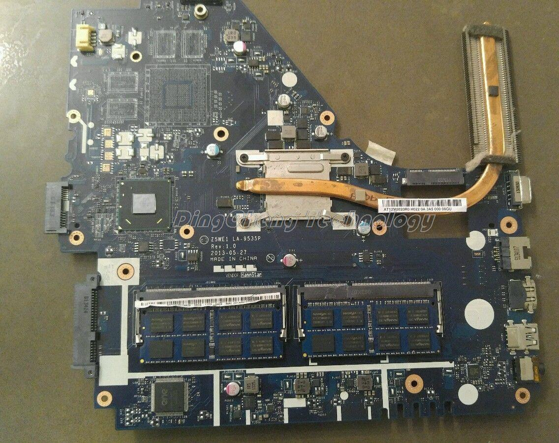 HOLYTIME Scheda Madre del computer portatile Per ACER E1-570 Z5WE1 LA-9535P NB. MEQ11.001 per intel 2117U SR0VQ cpu con scheda grafica integrata