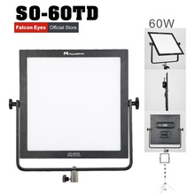 Falcon Eyes SO-60TD video light 60W led panel lamp square soft Studio Light for film Advertisement shooting photography lighting yidoblo indoor video film shooting light a 1200c pro rgb led light multi color for led panel light broadcast lamp app control