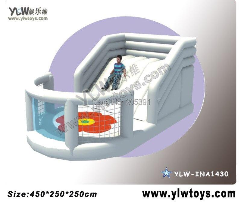 Videur gonflable pour le parc d'équipement d'amusement, jouets gonflables de château de lit de trampoline YLW-INA1430