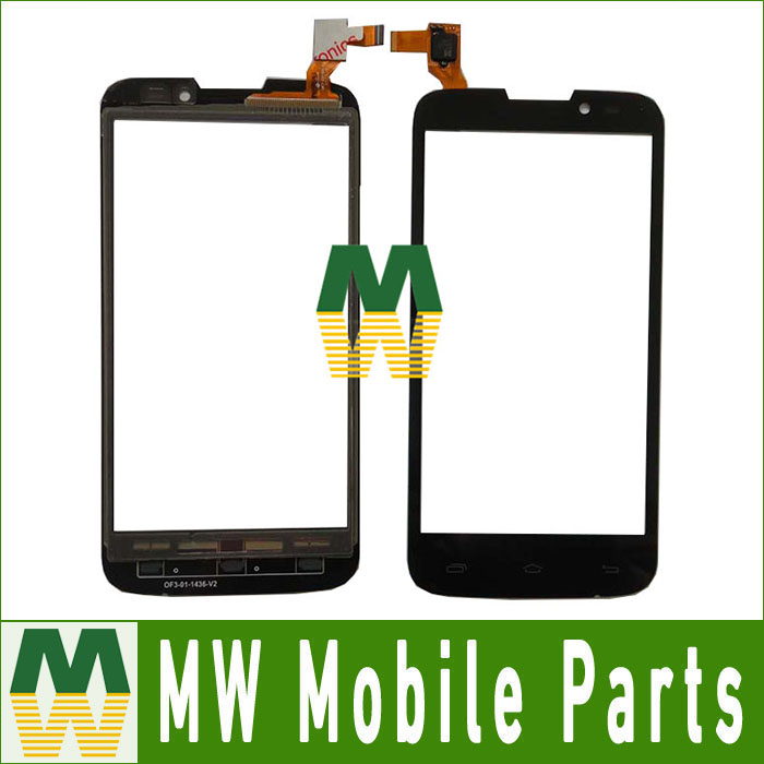 1PC/ Lot High Quality For Mobistel Cynus T6 Touch Screen Digitizer Replacement Part Black Color
