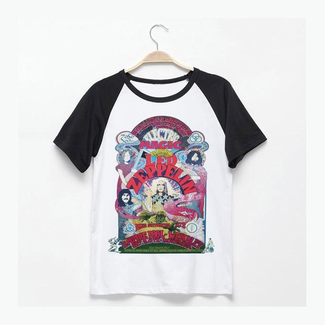 Led Zeppelin Camiseta - Hombre Mujer WFqeQa