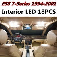 18pcs X Free Shipping Error Free LED Interior Light Kit Package For BMW E38 Accessories 1994