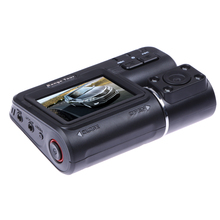 """Lente Dual Cámara Del Coche DVR I1000 Hd 1080 P 2.0 """"LCD 140 Grados Dash Cam + Versión de La Noche G-sensor de Visión Trasera Cámara Grabadora"""