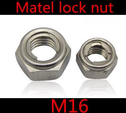 50/pieza tuerca M3/hasta M16/DIN 985/Acero Inoxidable, A2, V2/A