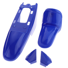 1 Set Plastic Motorcycle Front & Rear Wheels Fender Kit For Yamaha PW50 PY50 PW PY 50
