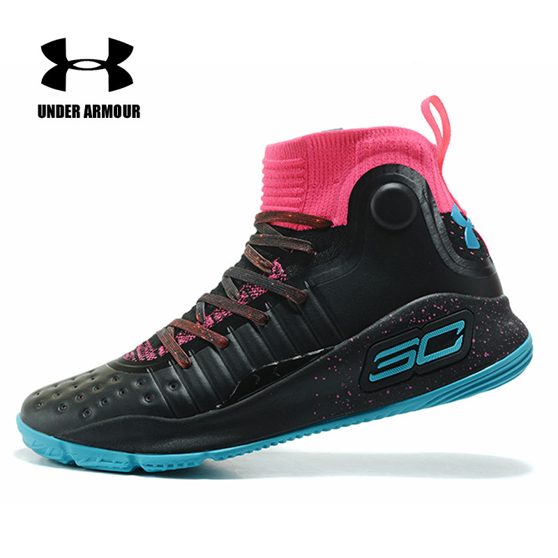 7f969657a3f263 Under Armour Shoes Men Basketball Shoes UA CURRY 4 Sneakers Men zapatillas  hombre deportiva Male Sports