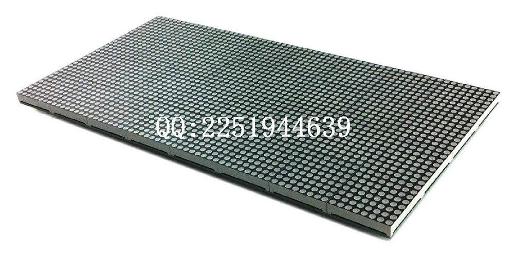 frete gratis f3 75 p4 75 interior dot matrix dual color led modulo visor do painel