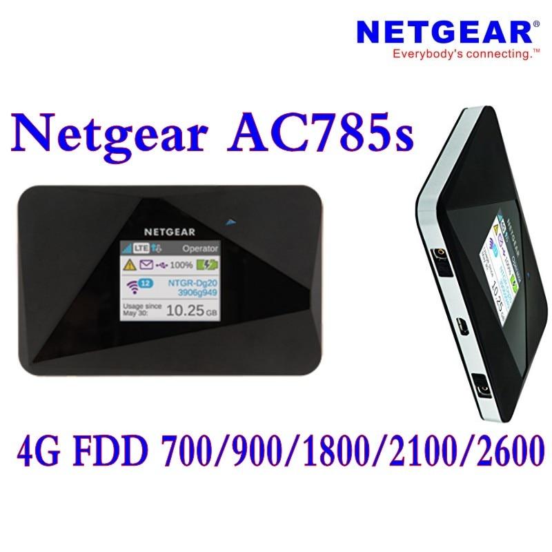купить Unlocked Netgear Aircard AC785s 785s LTE 4g router 4g lte mifi router 4G LTE pocket wifi router Hotspot Plus antenna недорого