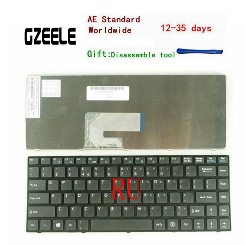 Russian laptop keyboard For MSI CR420 CR400 X350 EX465 CX420 CR420 X370 CR460 RU