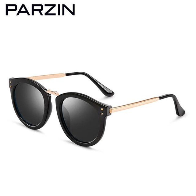 6650fccbec PARZIN Polarized Sunglasses Women Brand Designer Vintage Female Sun Glasses  Big Frame Driving Sunglasses Shades With Case 9555