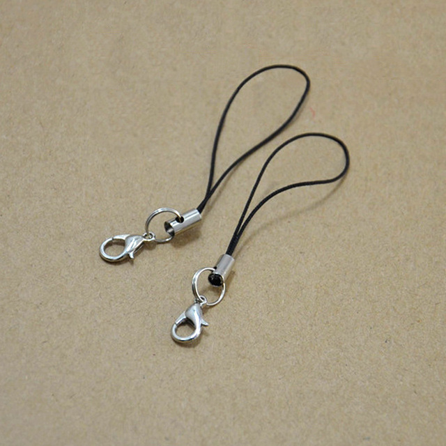 Wholesale 10PCS DIY Lobster Clasp Keychain Women Bag Phone Wallets Keyring  Ornaments Key Chain Ring Trinket f8f1bc2f1c
