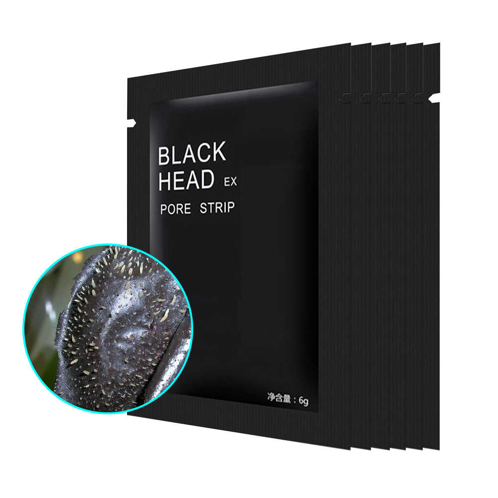 ELECOOL 1 pc zaskórnika remover maska głęboko do mycia twarzy czarny błotna maska trądzik porów taśmy peel off nos Mak skóry twarzy pielęgnacja TSLM2