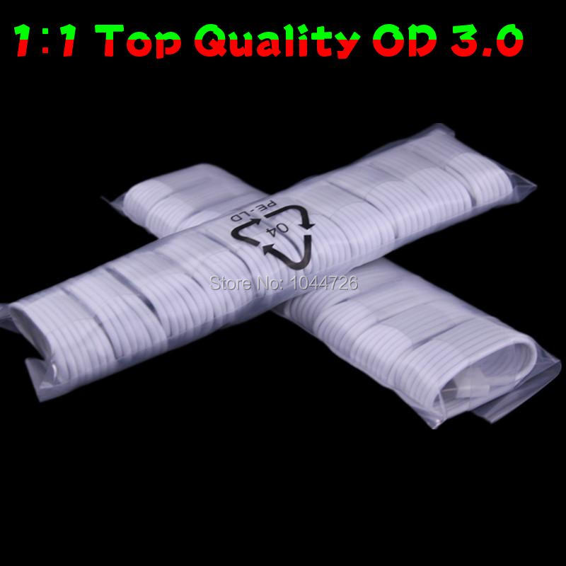 1000pcs lot OD 3 0MM Thicker Fabric Foil 8pin cable Accessory Bundles for mobile phone 5