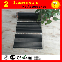 2 metro quadrado filme de Aquecimento sob o piso  AC220V filme de aquecimento piso 220w por metro quadrado