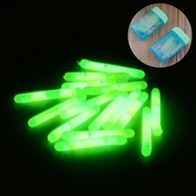 Hot Camping 15pcs 4.5x36mm Fishing Fluorescent Lightstick Light Night Float Rod Lights Dark Glow Stick Outdoor Fishing Tools