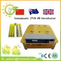 Brand New 48 Eggs Incubator Automatic Chicken Egg Incubator Poultry Hatcher Machine