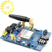 SIM808 модуль GSM GPRS GPS макетная плата SMA с GPS антенной для Arduino