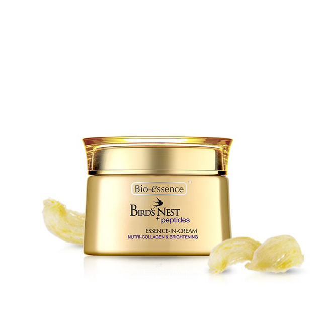 PYOHO Bio essence Bird's nest peptides jade-like stone embellish microcapsule essence cream hydrating firming face cream